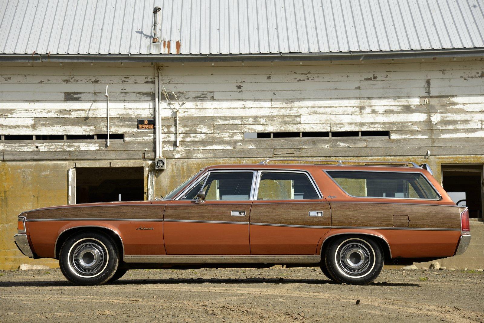 1972 AMC Ambassador Brougham Wagon side