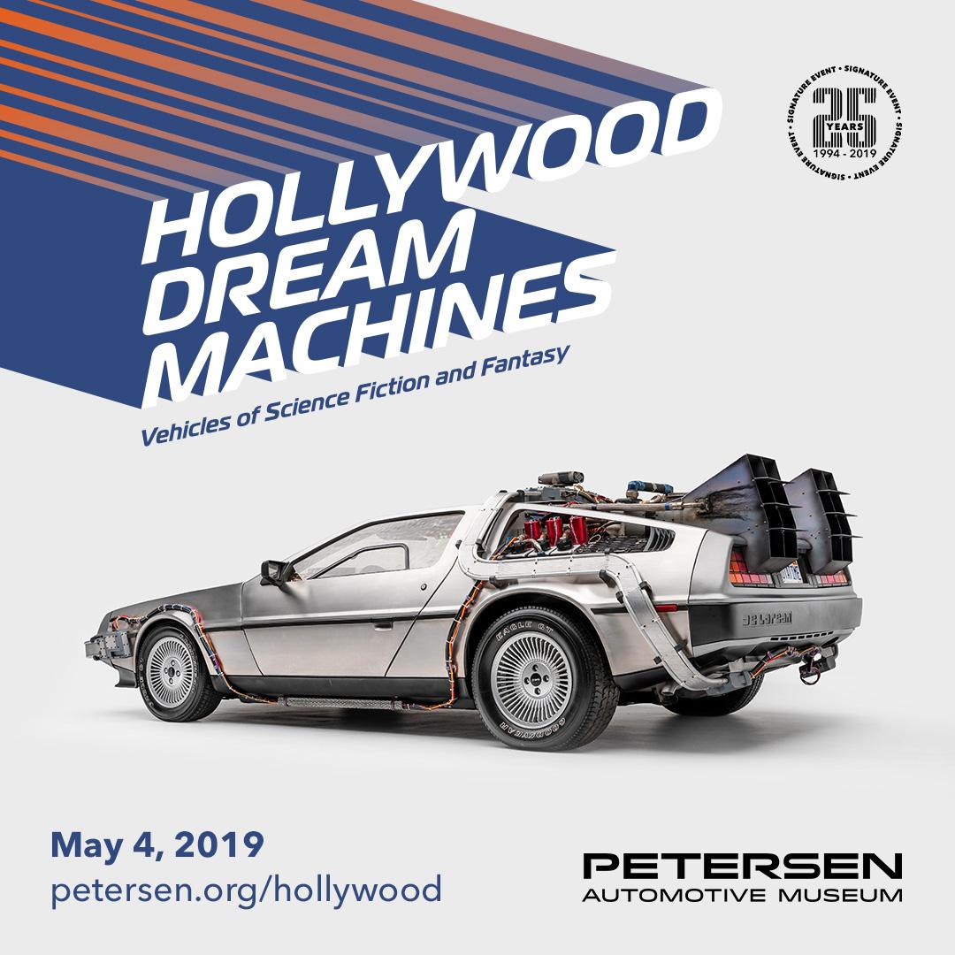 Hollywood dream machines flyer