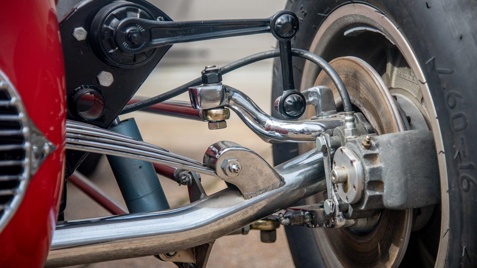 1952 Kurtis Kraft 4000 Indy Car suspension