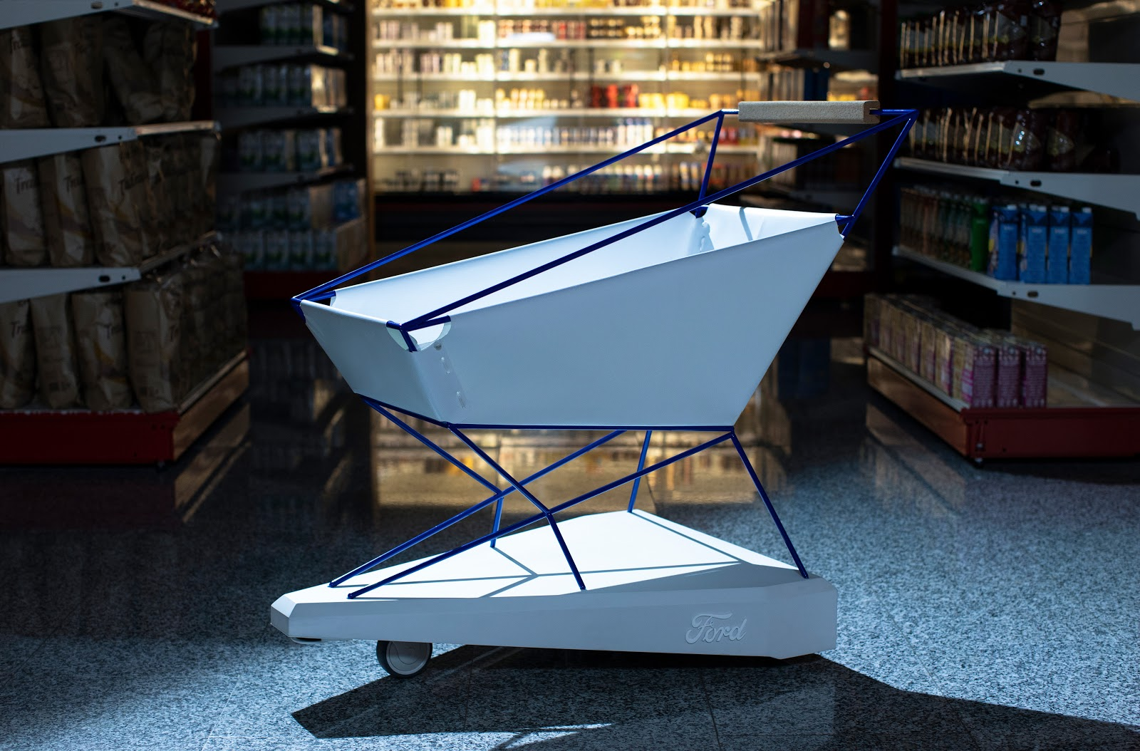 Ford smart shopping cart