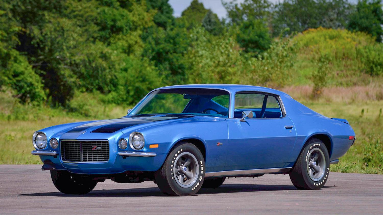 1970 Chevrolet Camaro Z/28 3/4 front