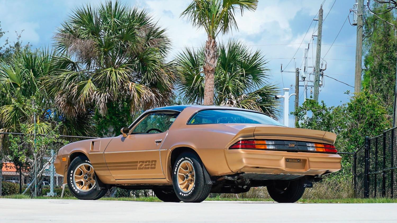1981 Chevrolet Camaro Z/28 3/4 rear