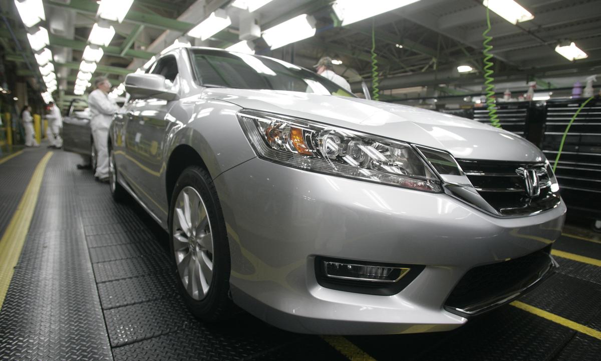 Honda marysville auto plant silver