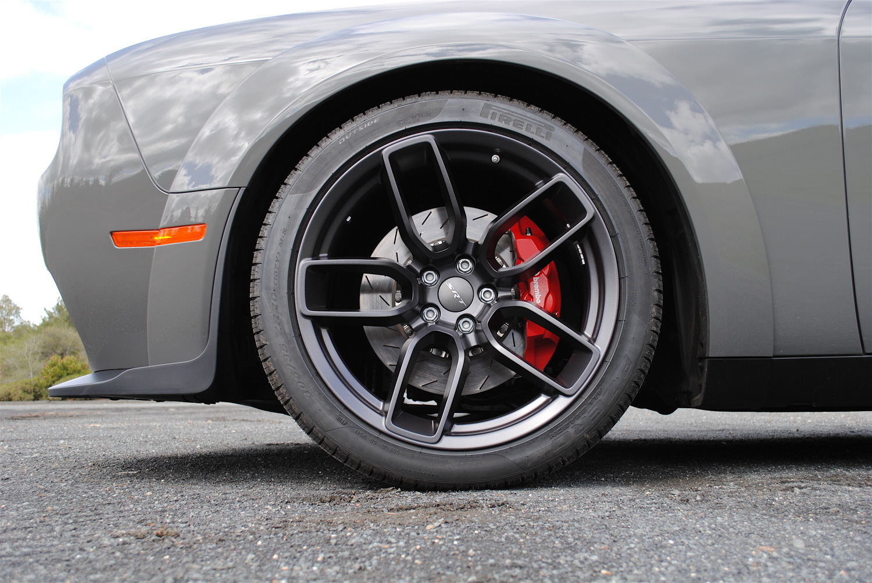 2018 Dodge Challenger SRT Demon wheel detail