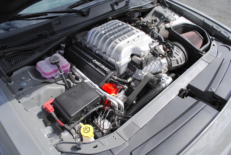 2018 Dodge Challenger SRT Demon hemi engine