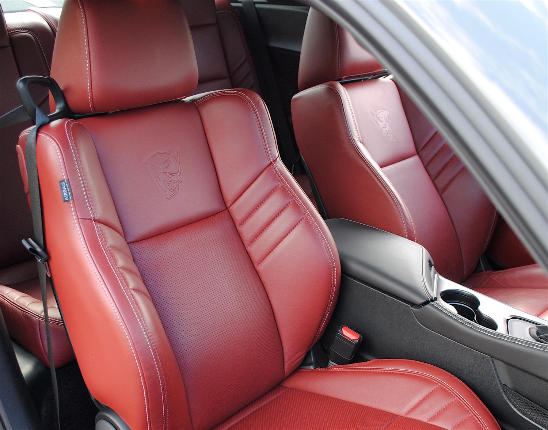 2018 Dodge Challenger SRT Demon seat red