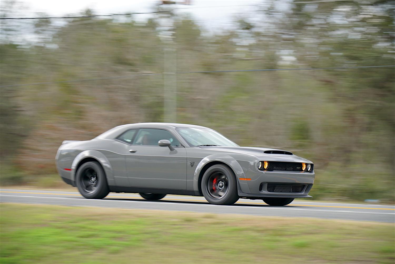2018 Dodge Challenger SRT Demon 3/4 front driving