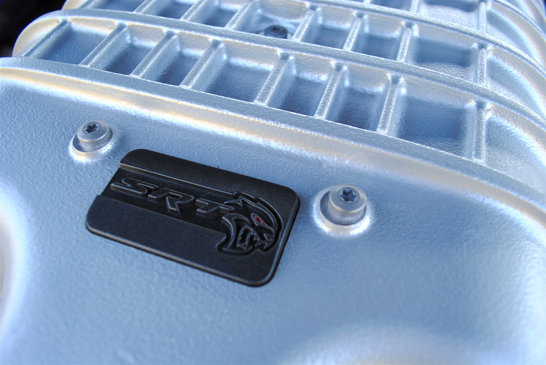 2019 Dodge Challenger SRT Hellcat Redeye supercharger detail