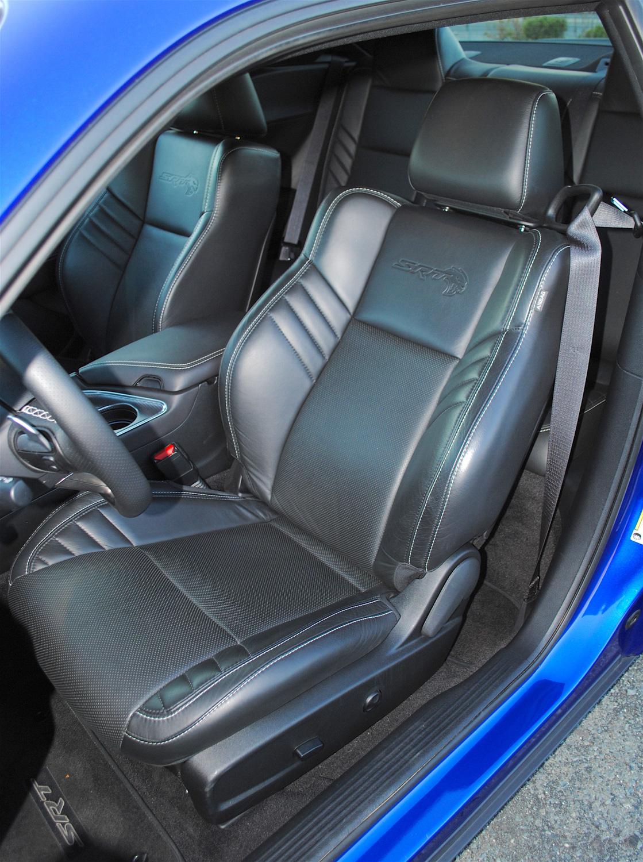 2019 Dodge Challenger SRT Hellcat Redeye driver seat