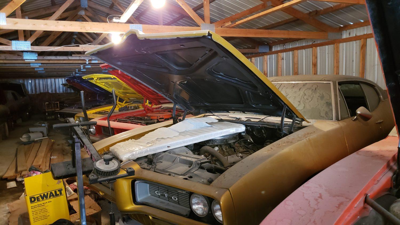 GTO Barn find VanDerBrink Auctions