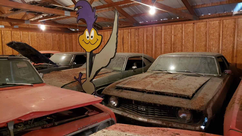 VanDerBrink Auctions roadrunner camaro barn find