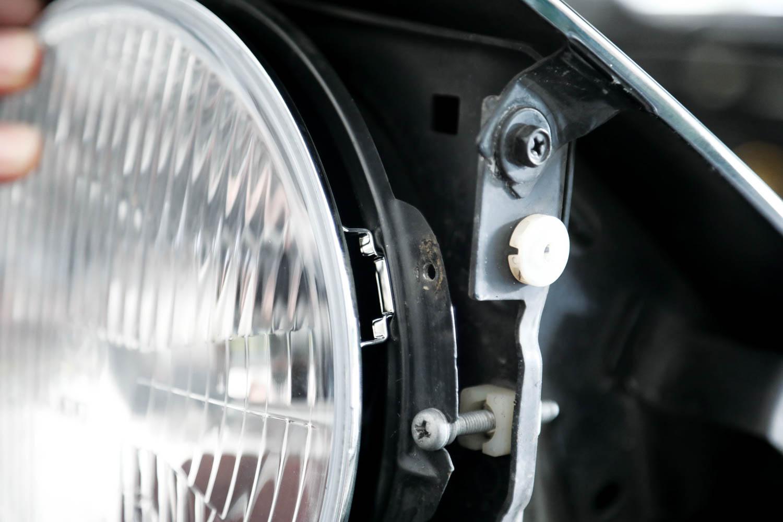 new LED headlights