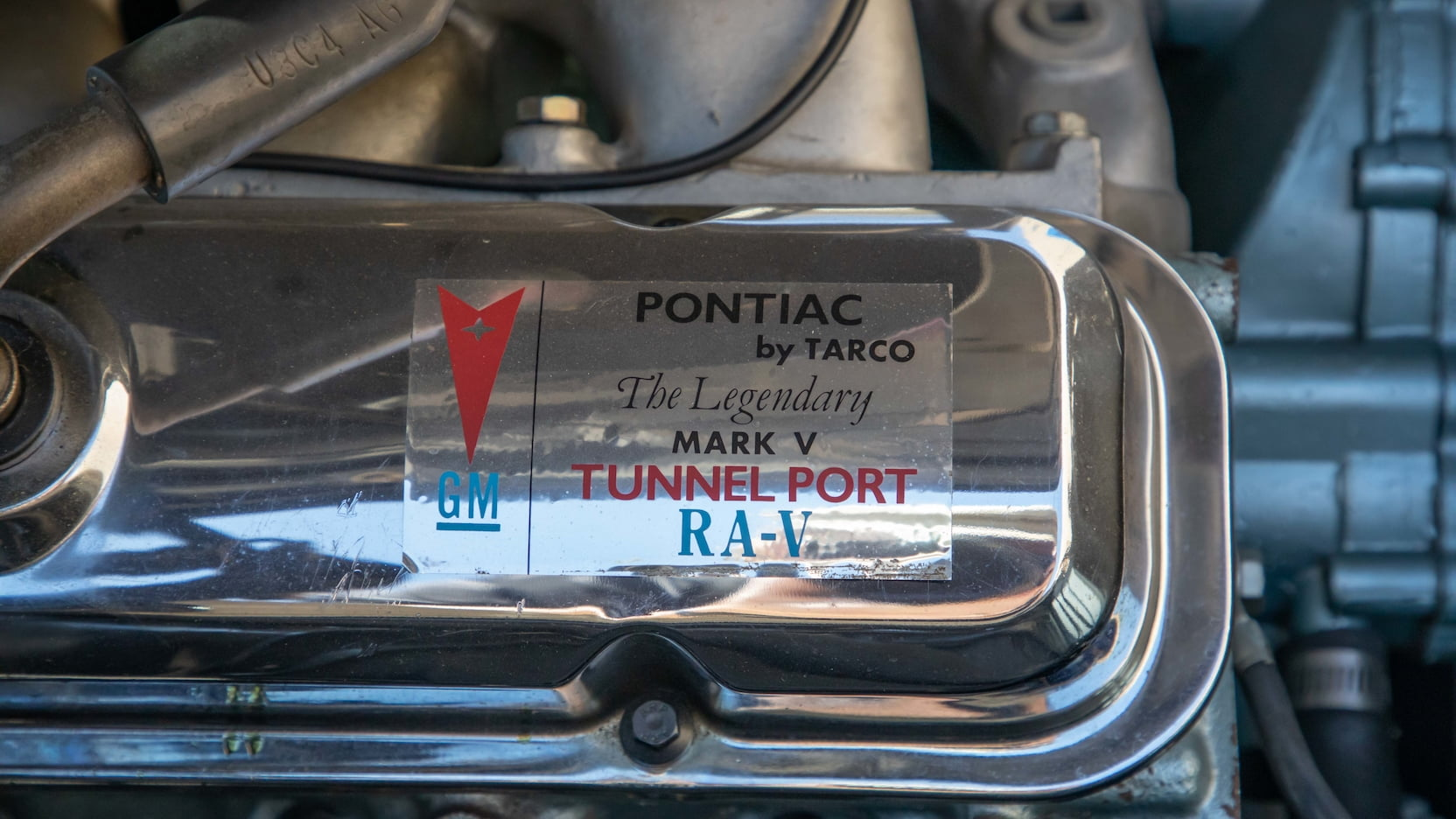 1969 Pontiac Trans Am 303 Ram Air V engine head