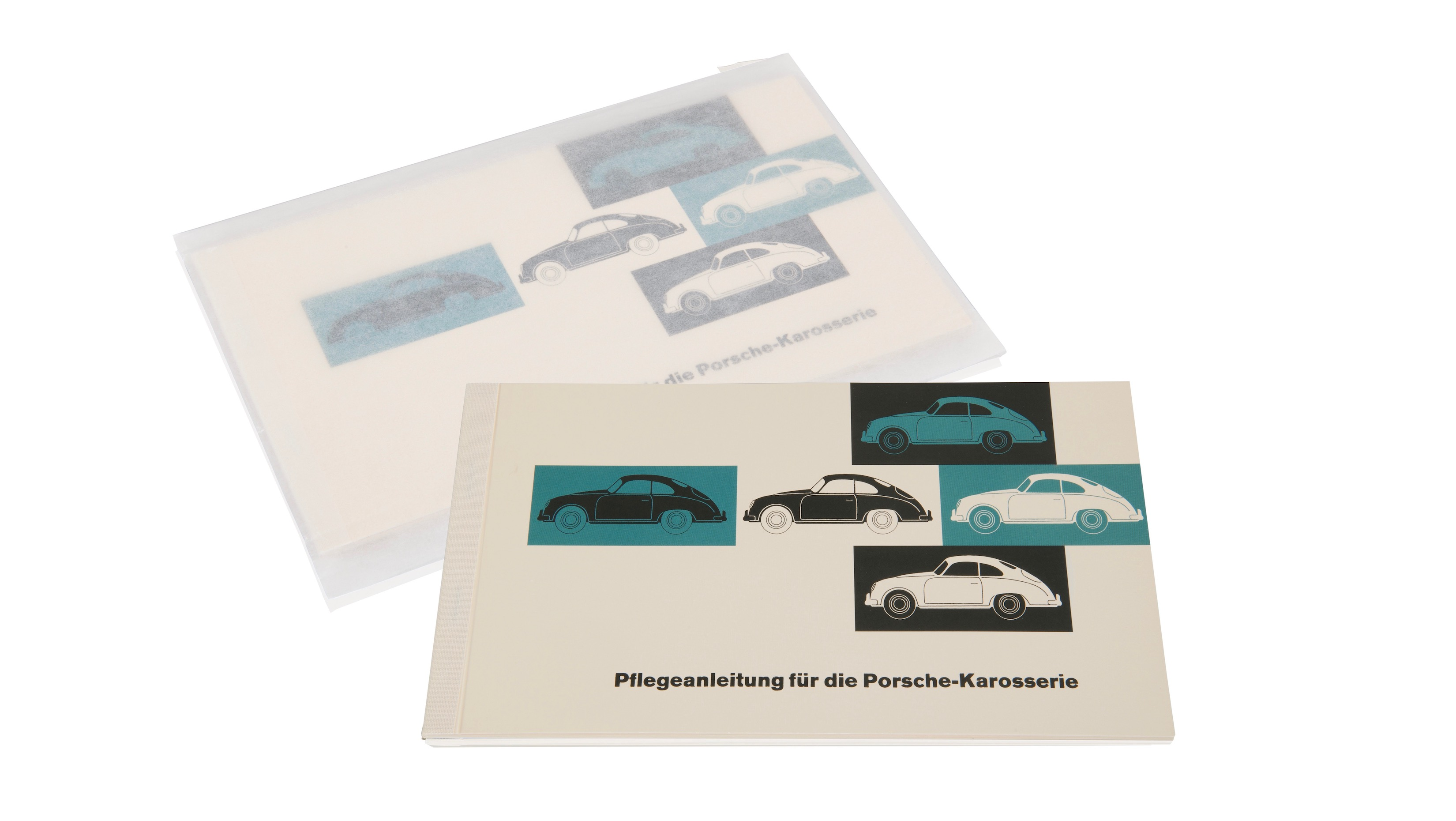 Body care information for Porsche 356 models (model years 1955-1963).