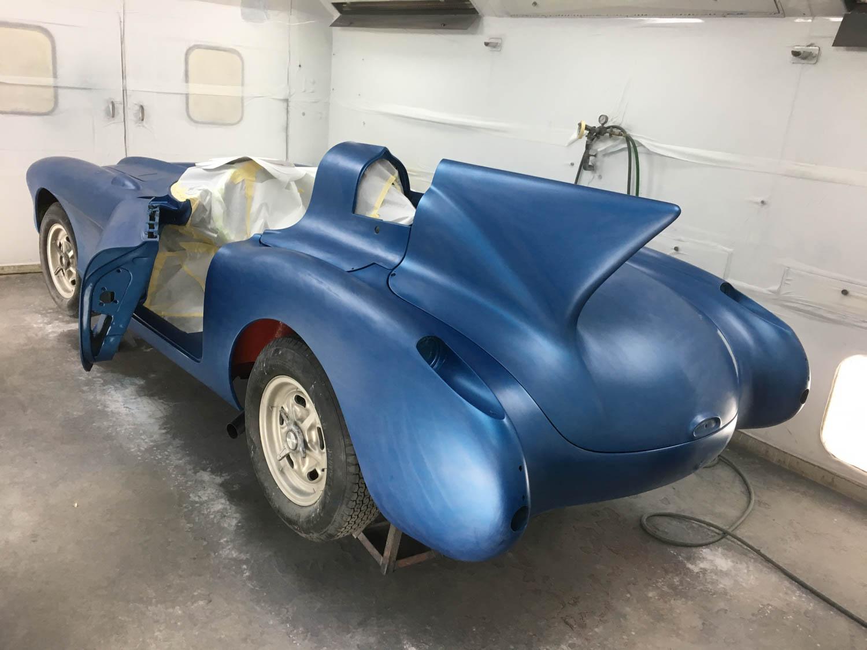 Corvette SR-2 body work