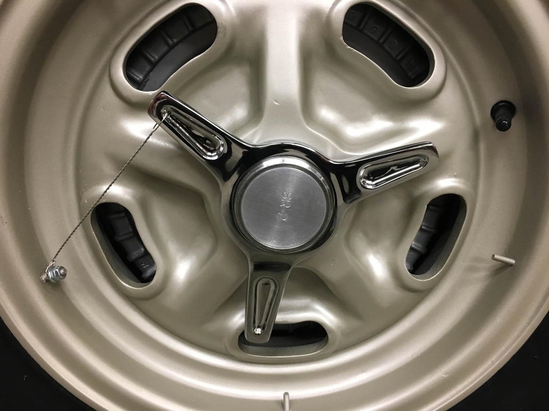 Corvette SR-2 wheel detail