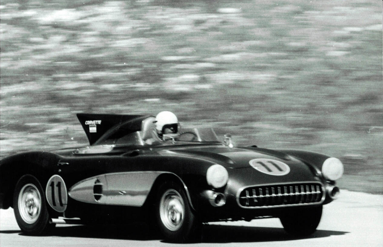 1956 SR-2 racing