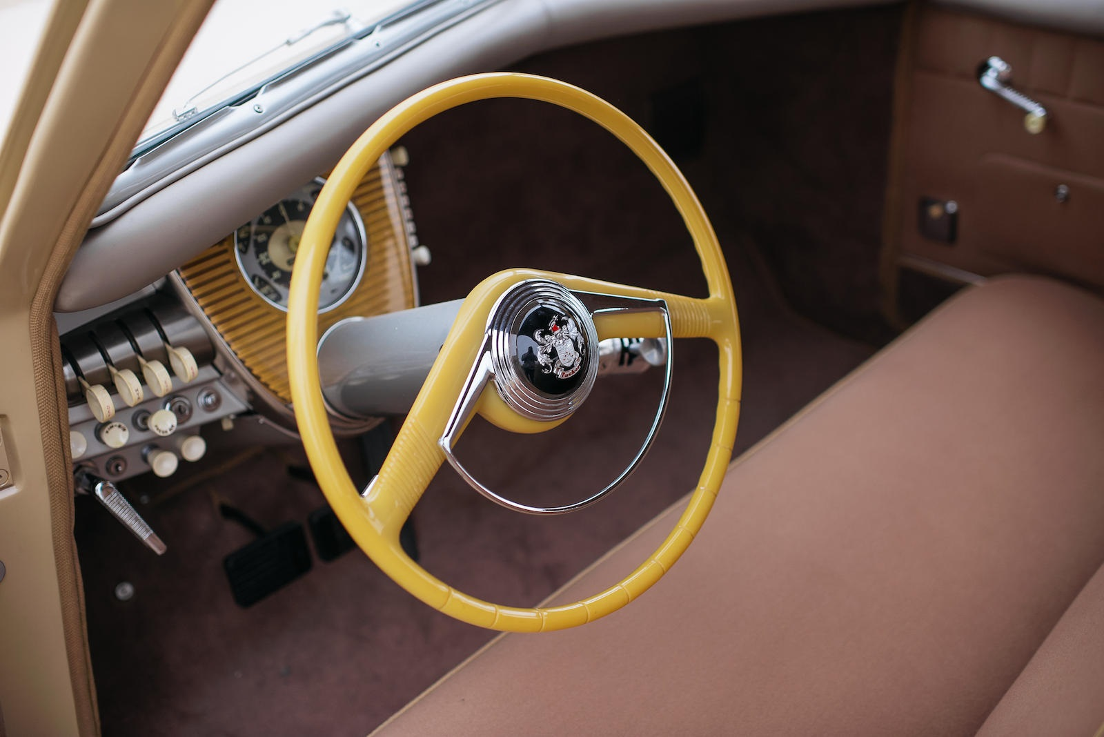 1948 Tucker 48 steering wheel