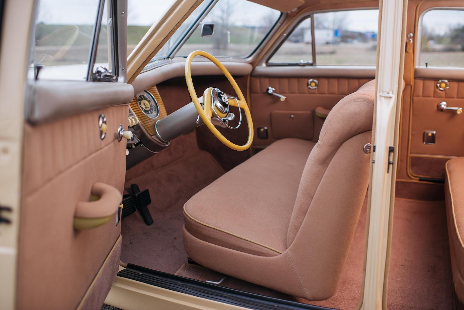 1948 Tucker 48 interior