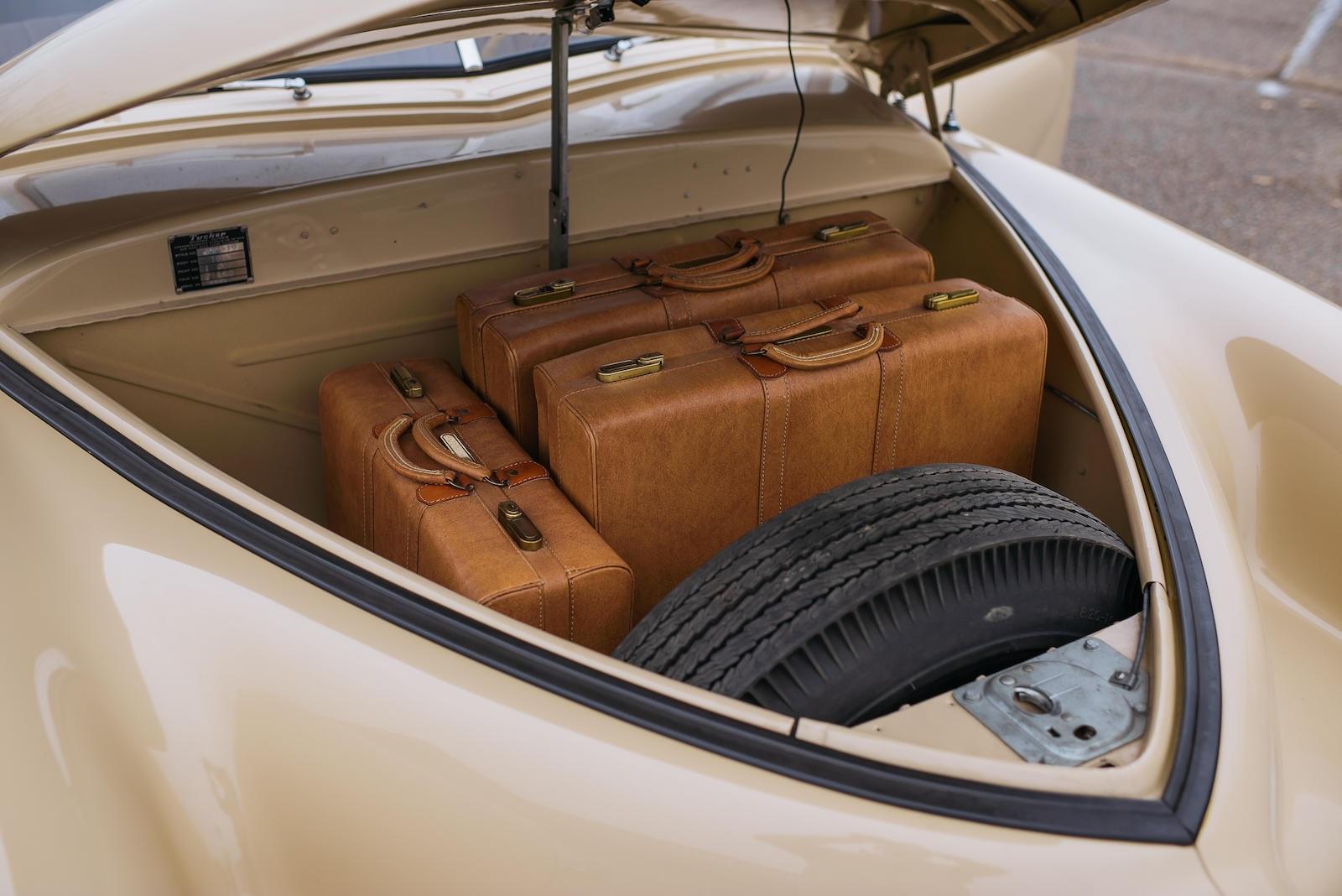 1948 Tucker 48 trunk