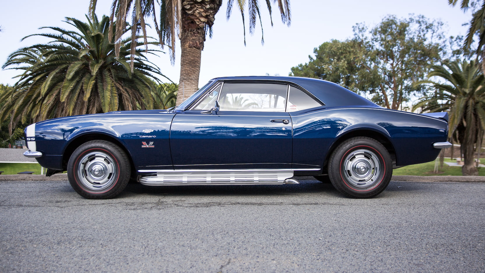 1967 Chevrolet Yenko Camaro side profile