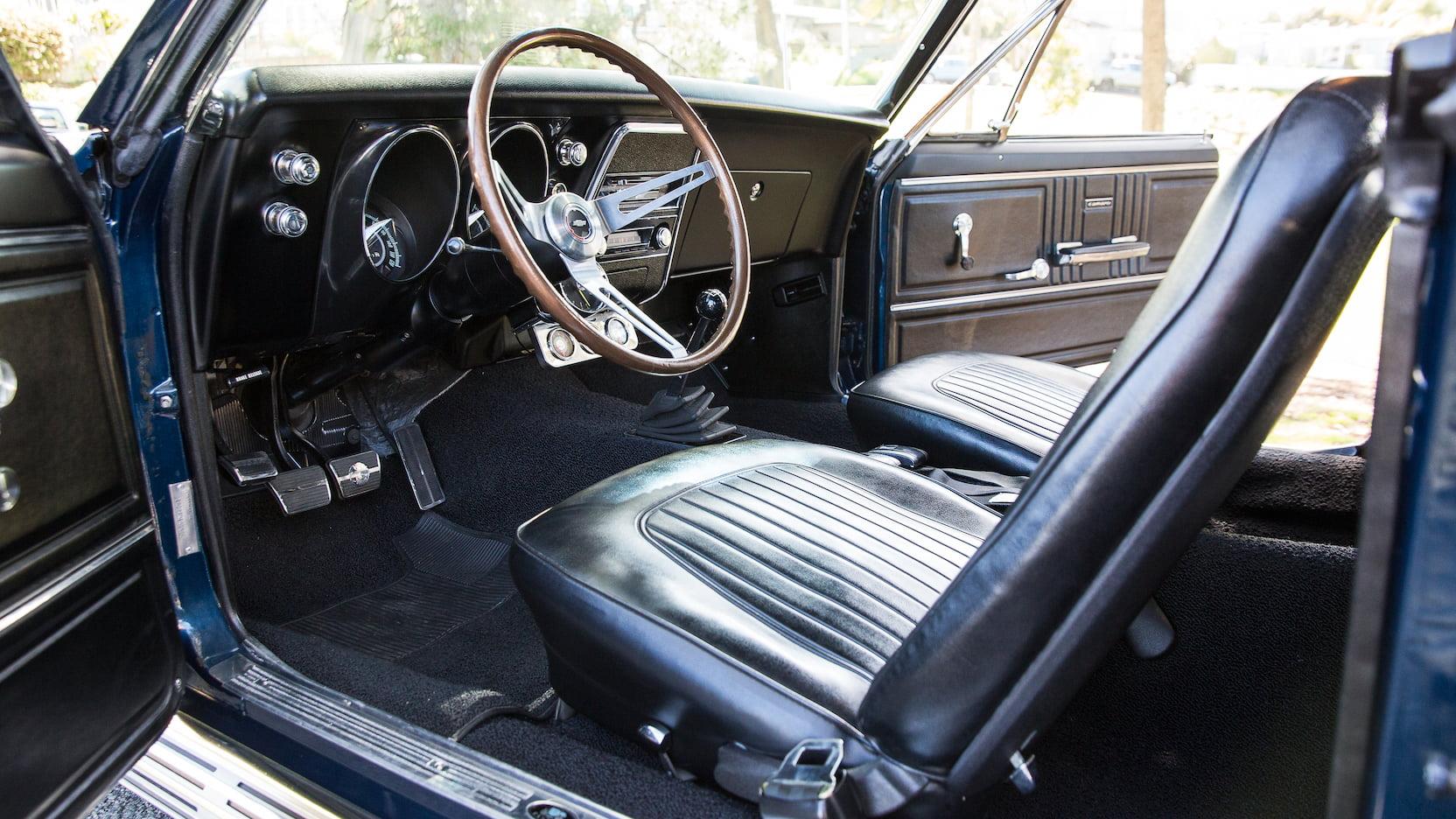 1967 Chevrolet Yenko Camaro interior