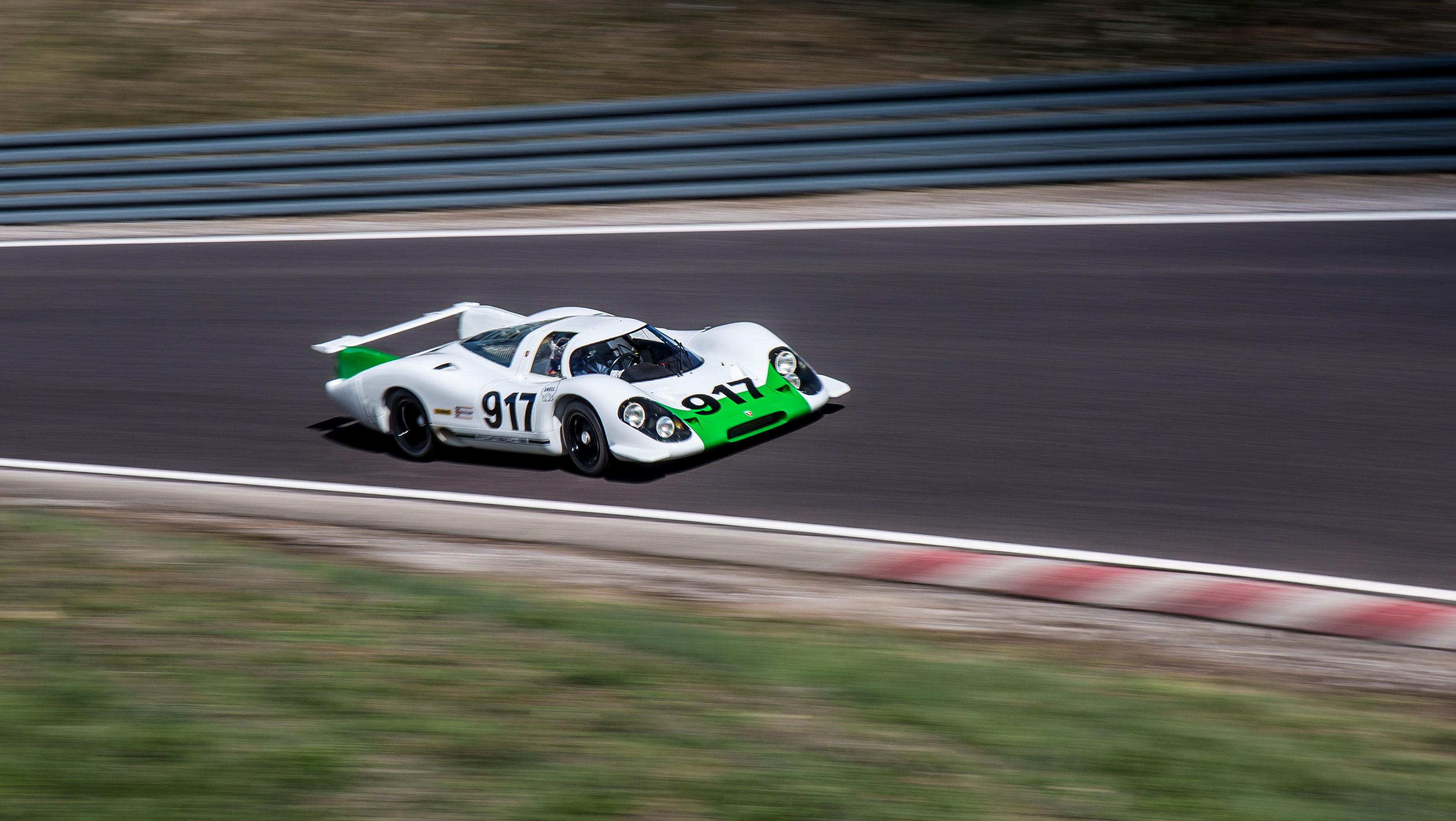 Porsche 917 on the track