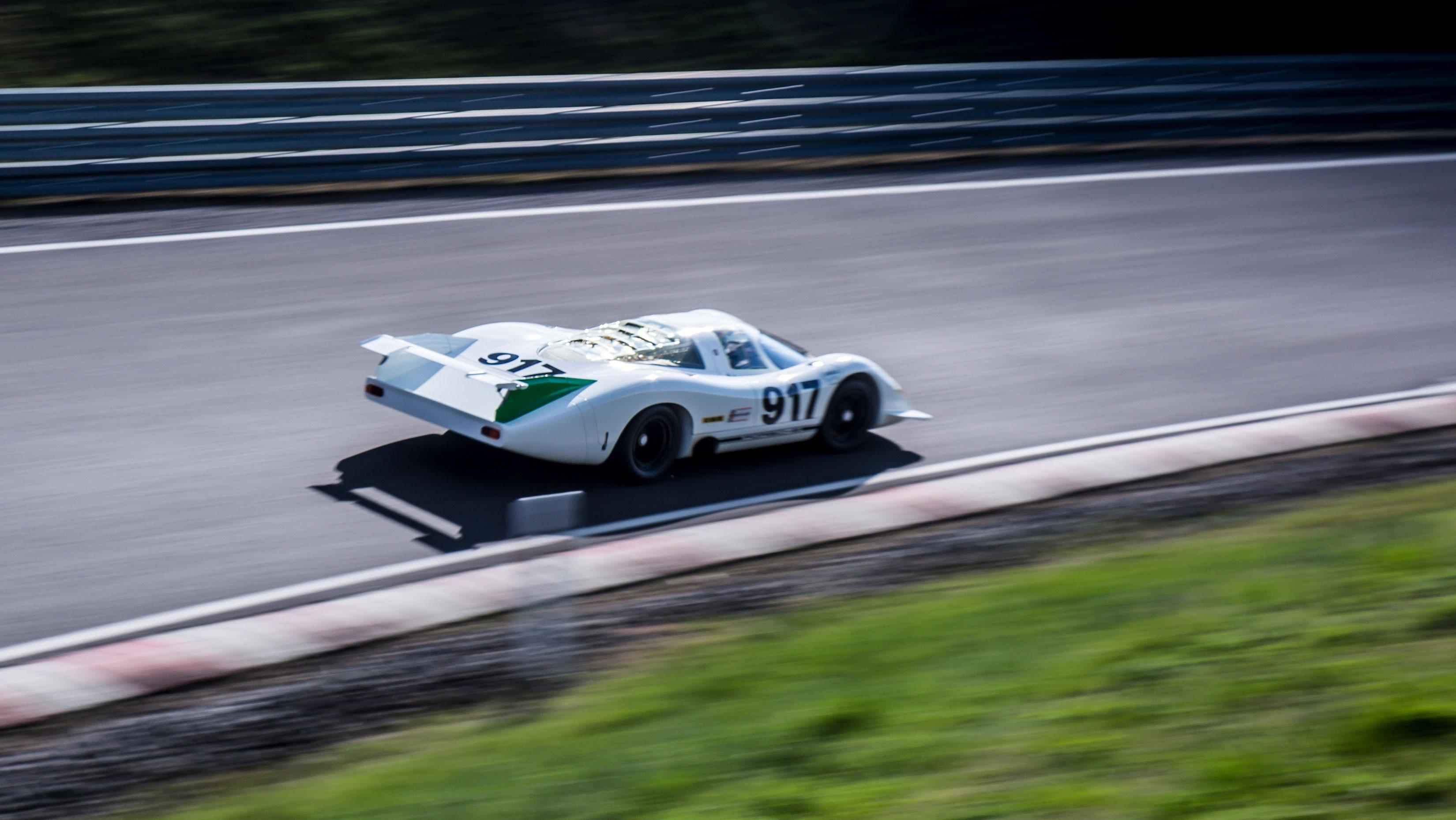 Porsche 917 rear 3/4
