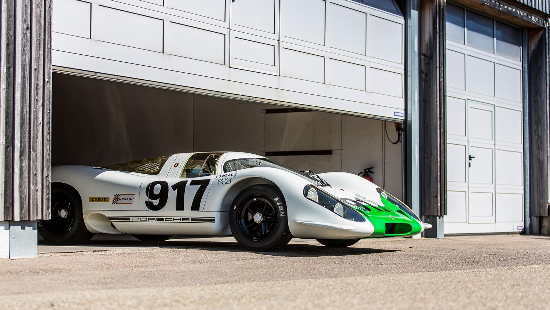 Porsche 917 in the paddock