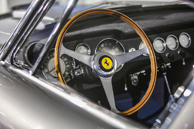 1961 Ferrari 250 GT SWB SEFAC steering wheel