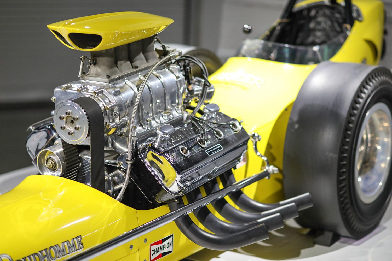 1962 Greer-Black-Prudhomme Dragster engine