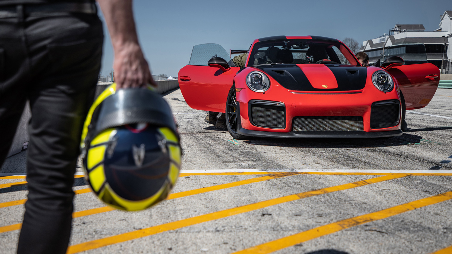 Porsche 911 GT2 RS hustles to new Road America production car lap record thumbnail