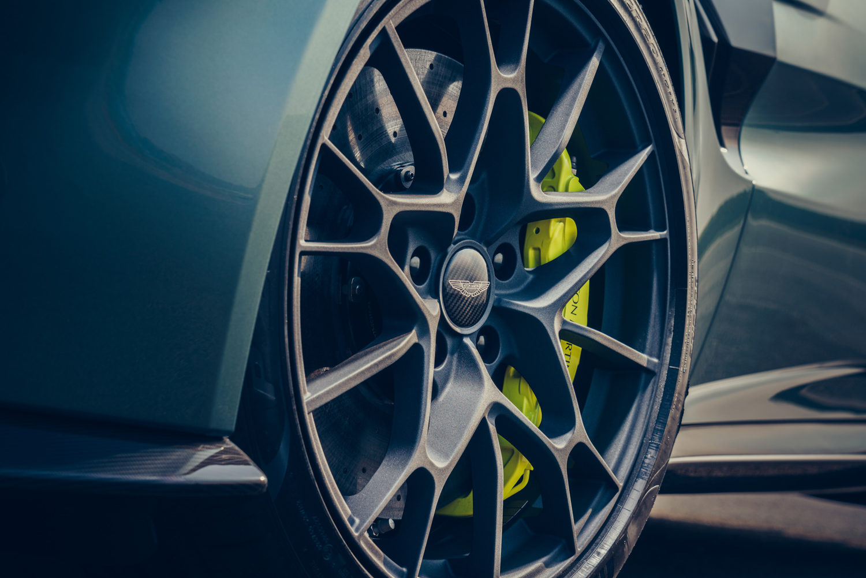 Aston Martin Vantage AMR 3/4 drifting