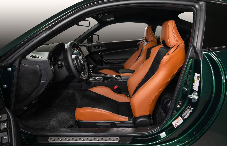 2020 Toyota 86 Hakone Edition seat details
