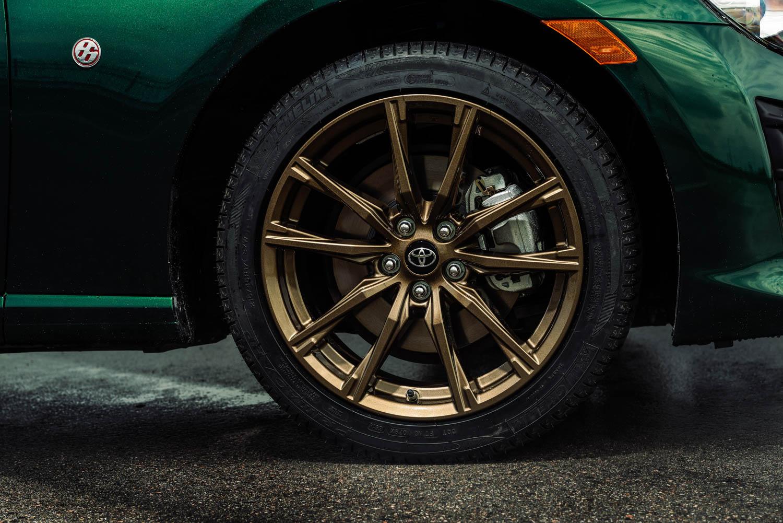 2020 Toyota 86 Hakone Edition wheel detail
