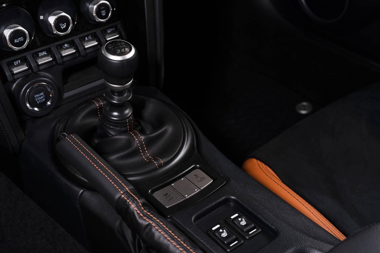 2020 Toyota 86 Hakone Edition shifter knob