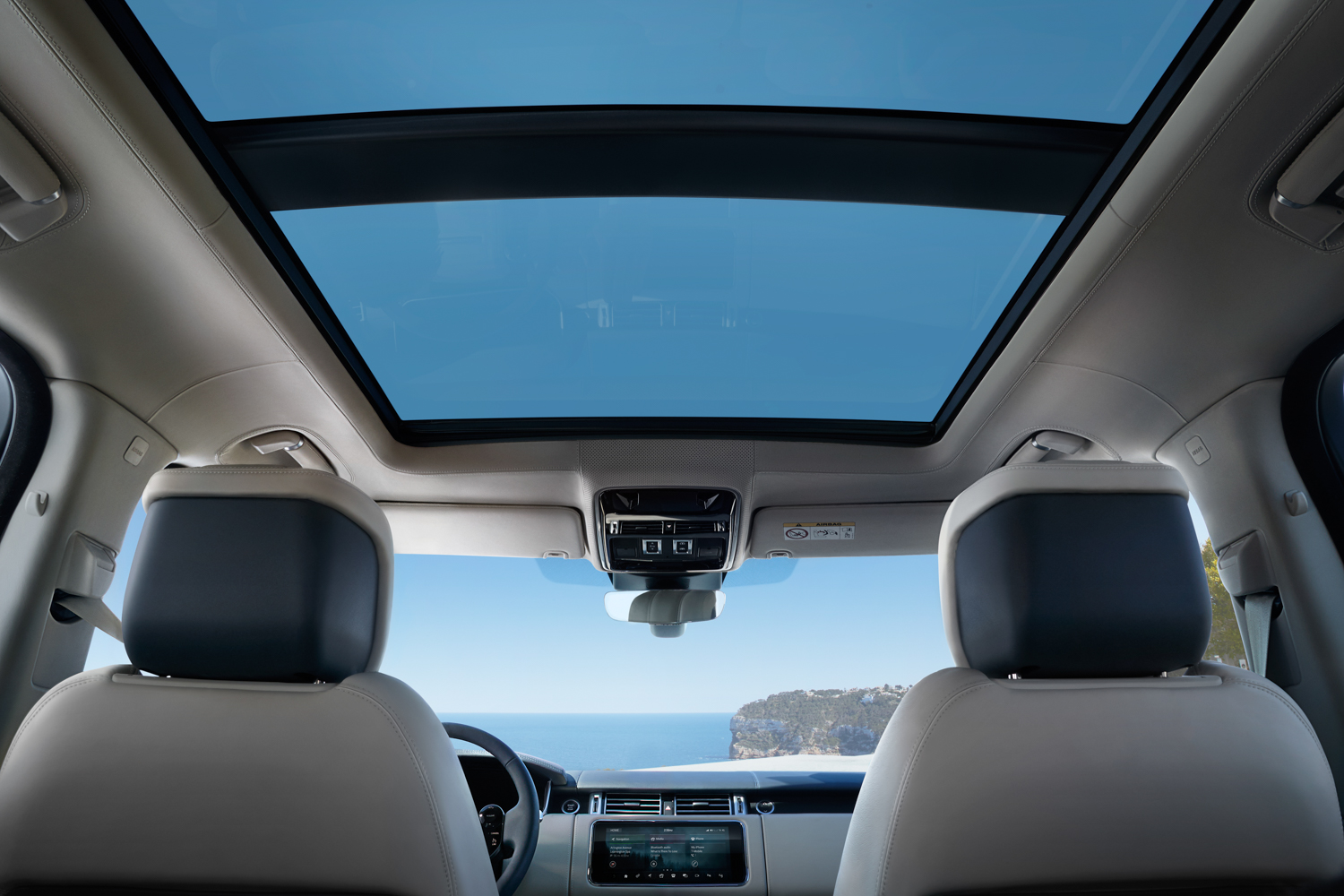2020 Land Rover Range Rover glass roof