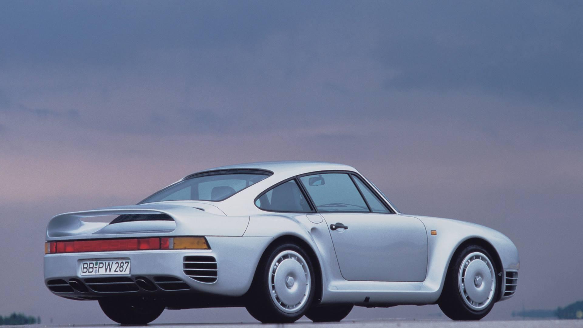 1985 Porsche 959 turbofan wheels