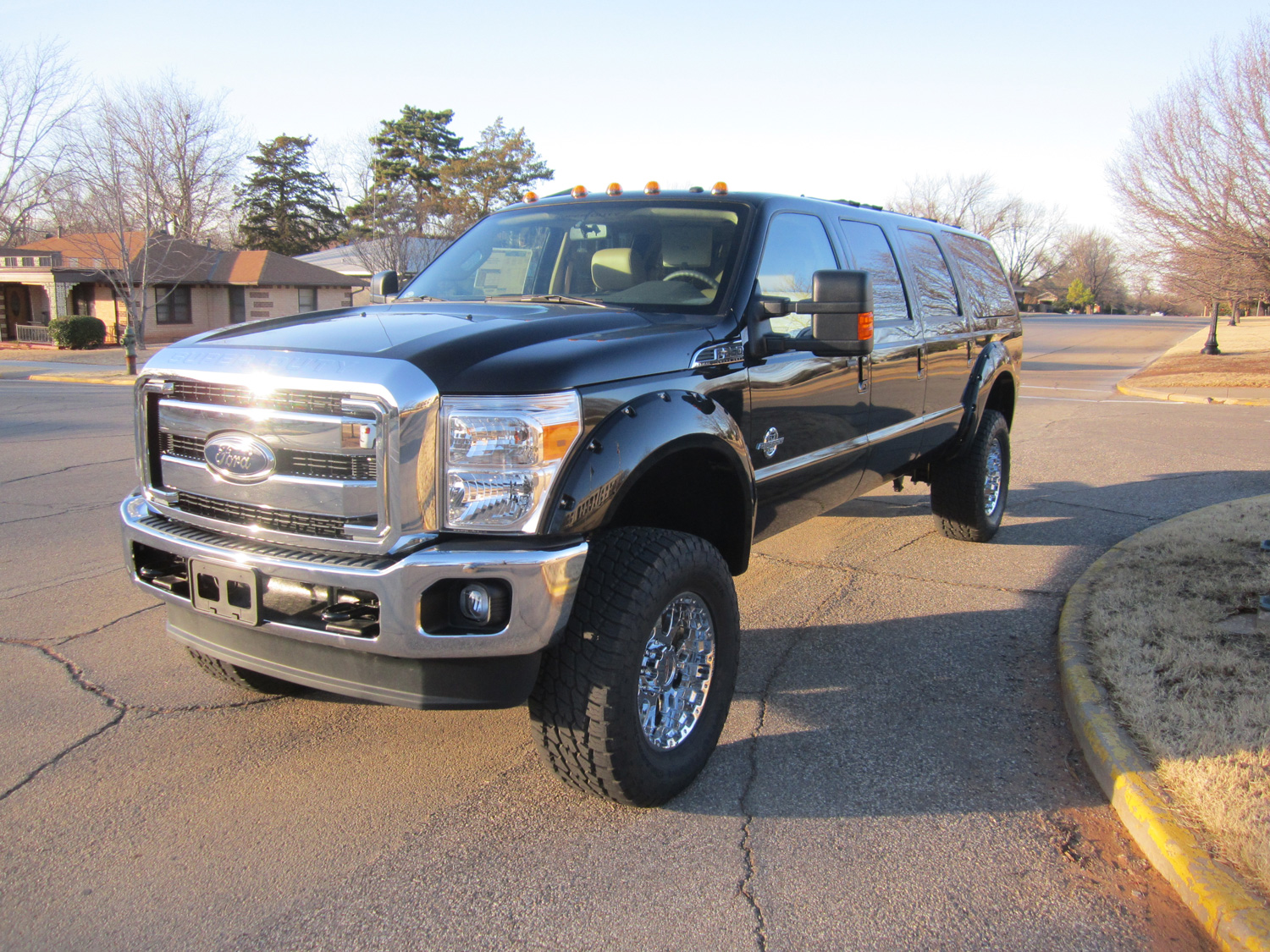 New Ford Excursion front 3/4