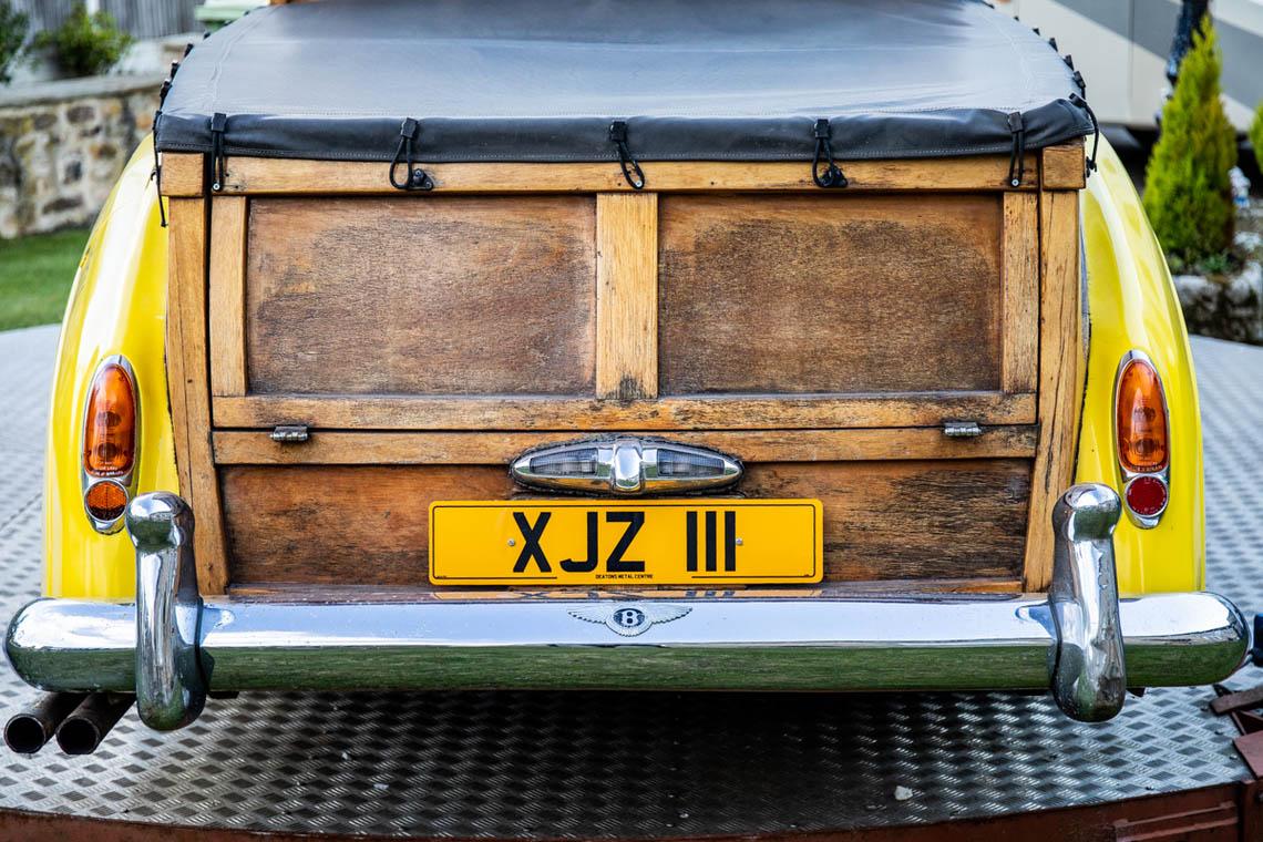 1956 Bentley S1 Pickup tailgate