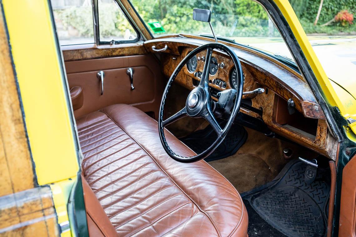 1956 Bentley S1 Pickup interior