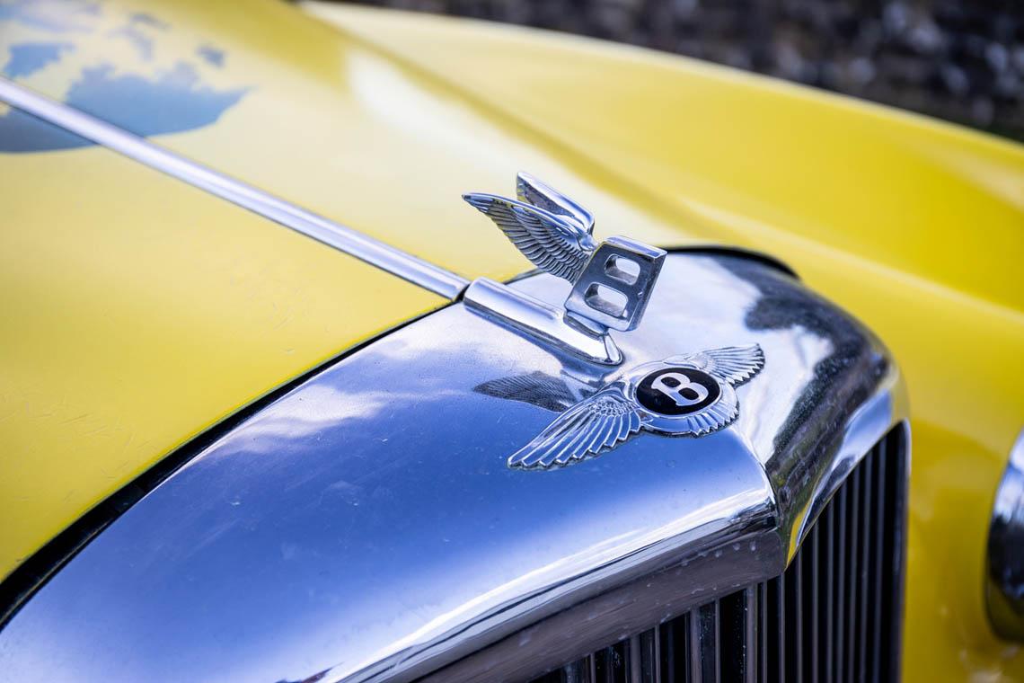1956 Bentley S1 Pickup hood ornament