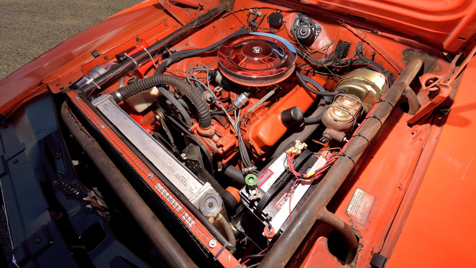1969 Dodge Charger General Lee Stunt Car engine