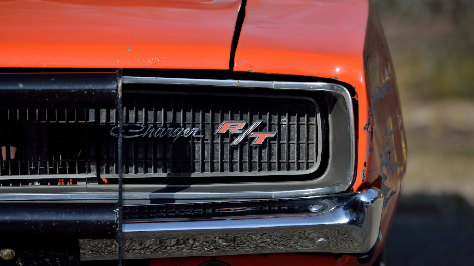 1969 Dodge Charger General Lee Stunt Car grille