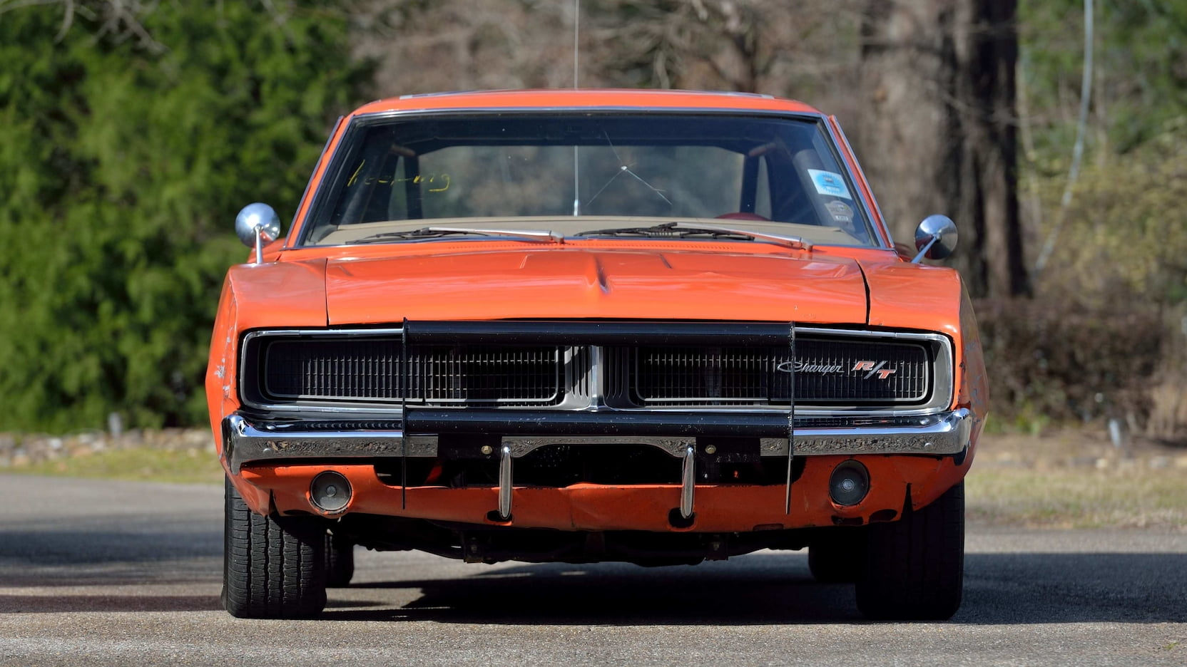 1969 Dodge Charger General Lee Stunt Car front