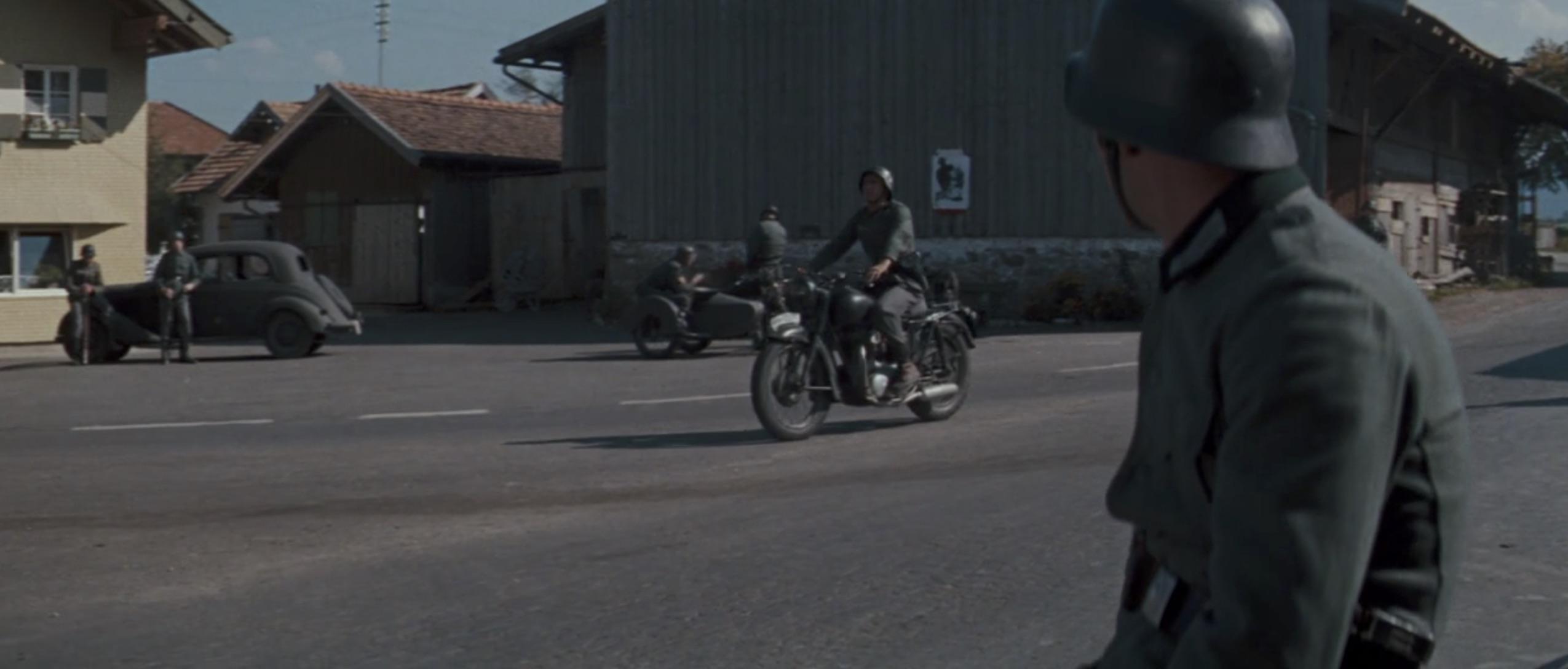 The Great Escape riding through town