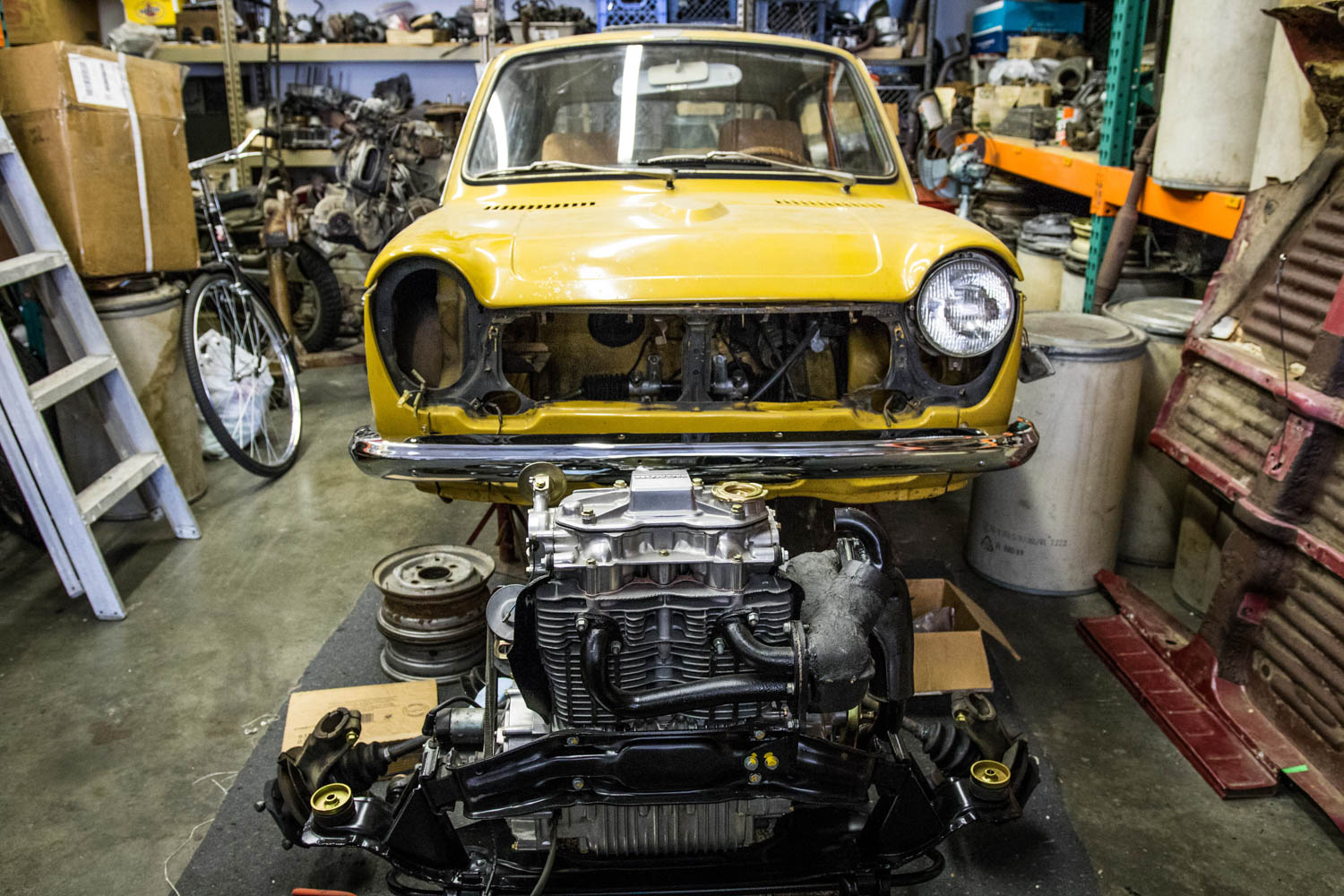 Honda N600 engine out
