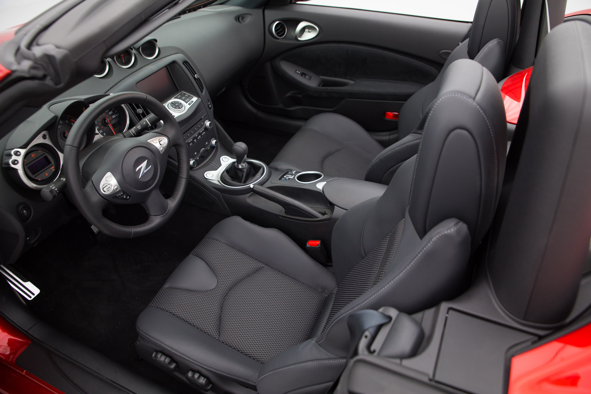 Interior 2019 Nissan 370Z Roadster