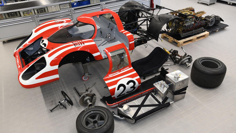 Porsche 917 deconstructed