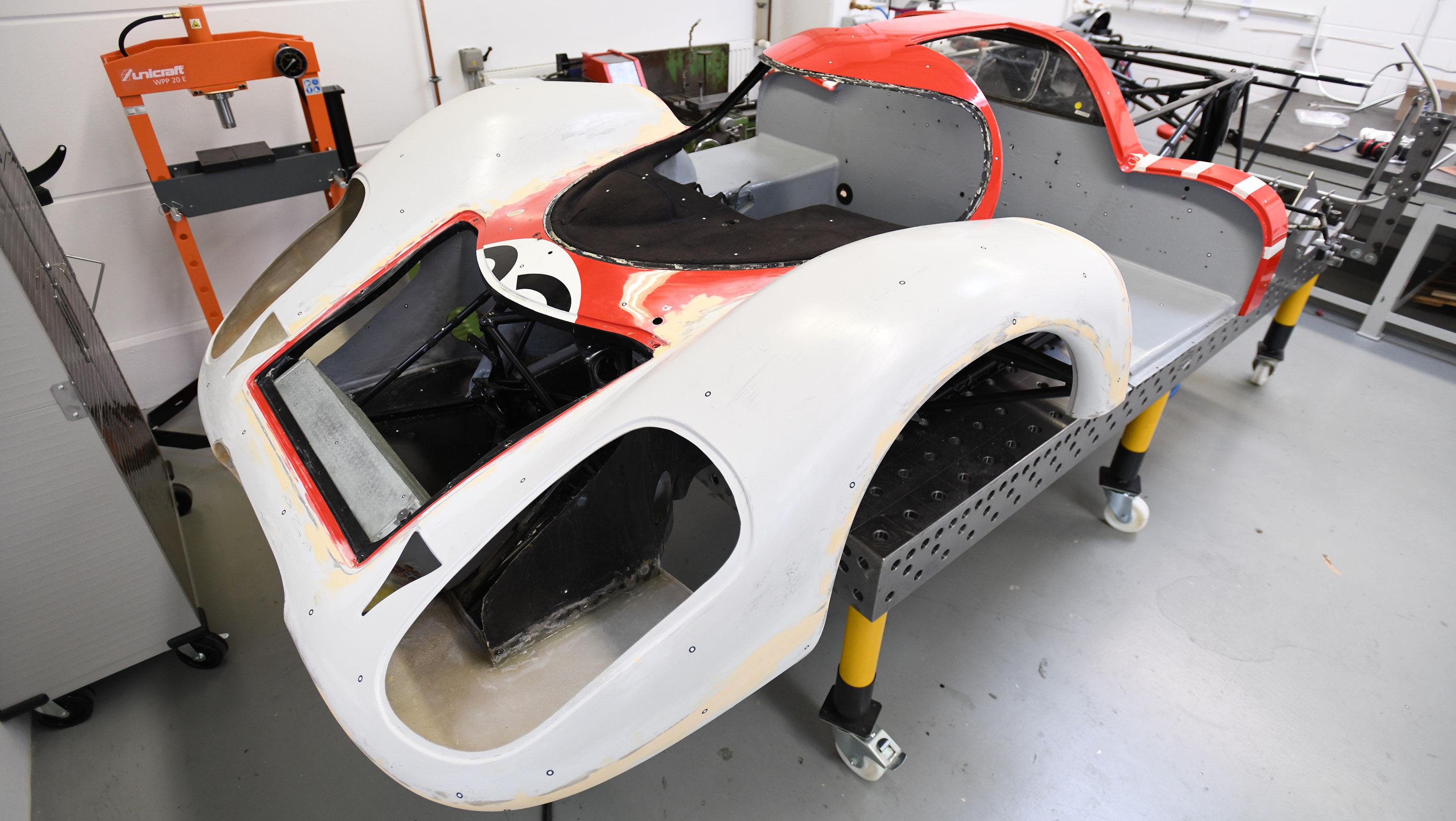 Porsche 917 body work
